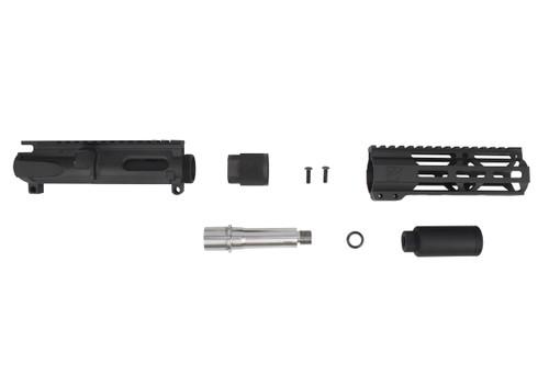 "3.5""- 4.5"" Overall Stainless Steel Upper Kit / 1:10 Twist / 6.5"" MLOK Handguard"