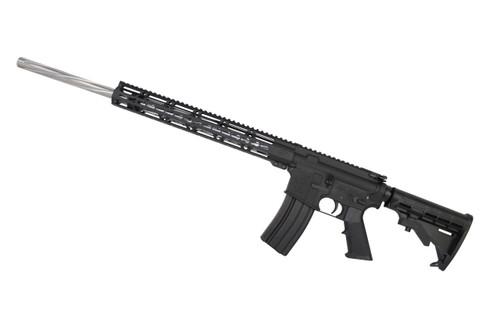 ".223 Wylde 'Operator Series' 24"" Stainless Steel Spiral Fluted Bull Barrel Complete Rifle / 1:8 Twist / 15"" MLOK Handguard"