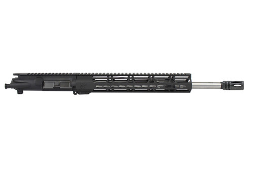"5.56 Nato 'Operator Series' 16"" Government Stainless Steel Upper Receiver / 1:8 Twist / 12"" KeyMod Handguard"