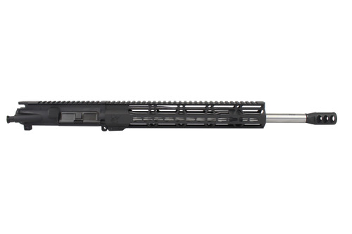 "5.56 Nato 'Operator Series' 16"" Government Stainless Steel Upper Receiver / 1:7 Twist / 12"" KeyMod Handguard"