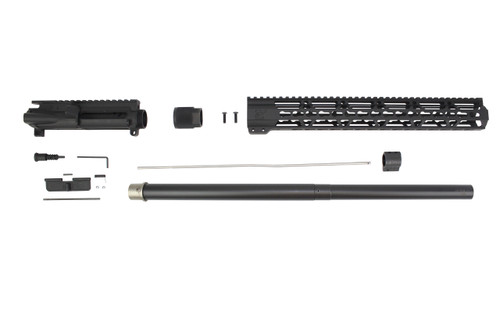 ".223 Wylde 'Operator Series' 24"" Nitride Bull Barrel Upper Kit / 1:8 Twist / 15"" KeyMod Handguard"