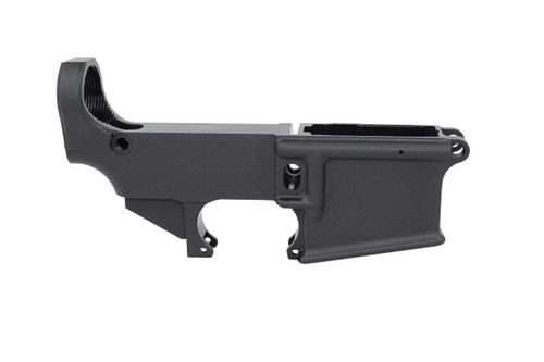 AR-15 Black Cerakote Mil-Spec 80% Lower Receiver