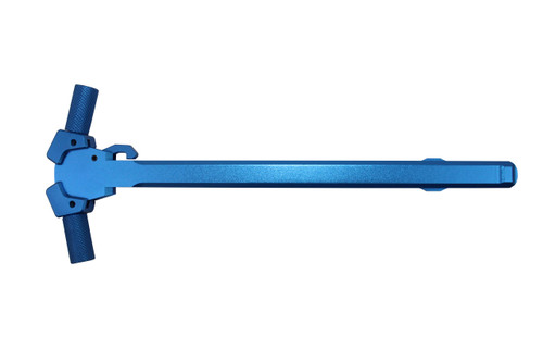 AR-15 **Blue** Ambidextrous Round Charging Handle