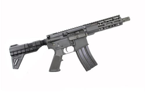"5.56 Nato 'Operator Series' 7.5"" Nitride Complete Pistol / 1:7 Twist / 7"" MLOK Handguard / Trinity Blade"
