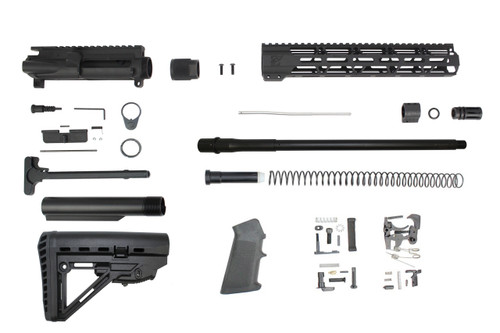 "300AAC Blackout 'Special Ops Series' 16"" Nitride Builder Kit / 1:8 Twist / 12"" MLOK Handguard"