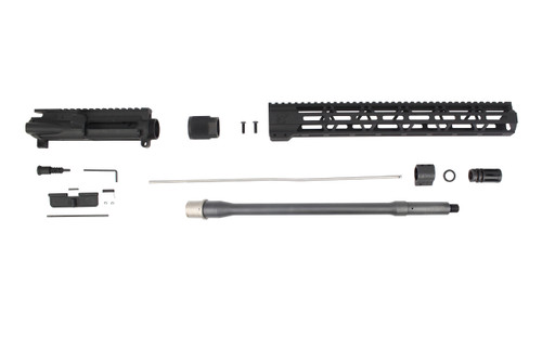 ".223 Wylde 'Operator Series' 16"" Nitride Match Grade Barrel Upper Kit / 1:8 Twist / 15"" MLOK Handguard"