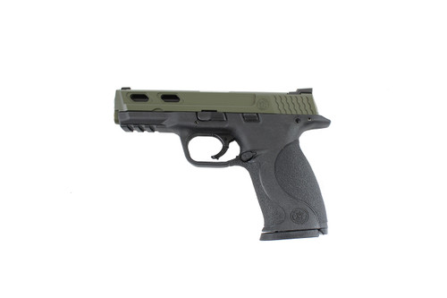 Smith & Wesson 40 (4 Diamond Cut Slide) OD GREEN