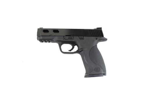 Smith & Wesson 40 (4 Diamond Cut Slide) TITANIUM FADE