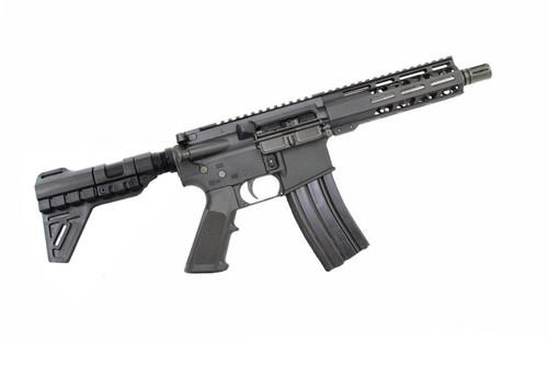 "5.56 Nato 'Operator Series' 7.5"" Stainless Steel Complete Pistol / 1:7 Twist / 7"" MLOK Handguard / Trinity Blade"