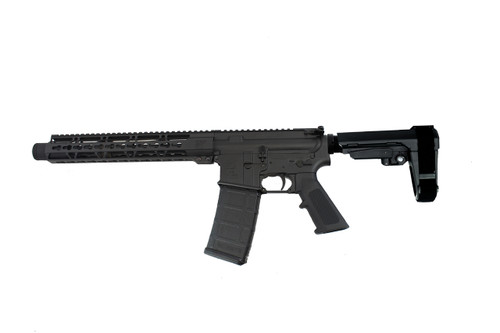 "5.56 Nato 'Operator Series' 10.5"" Nitride Complete Pistol / 1:7 Twist / SBA3 Brace / 12"" KeyLock Handguard"
