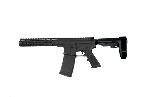 "5.56 Nato 'Operator Series' 7.5"" Nitride Complete Pistol / 1:7 Twist / SBA3 Brace / 10"" KeyLock Handguard"