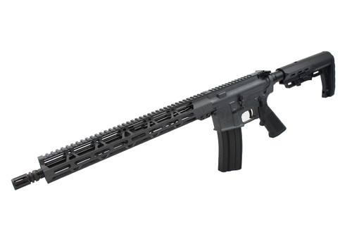 "5.56 Nato 'Operator Series' 16"" Government Complete Rifle / 1:8 Twist / 15"" MLOK Handguard / Sniper Grey (Z54863)"