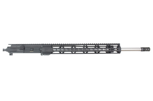 ".223 wylde 'Operator Series' 20"" Stainless Steel Fluted Upper Receiver / 1:8 Twist / 15"" Keymod Handguard"