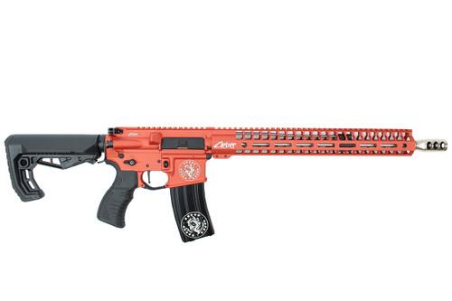 ".223 Wylde 16"" 'Baby Girl' Stainless steel Match Grade Complete Rifle / 1:8 Twist / 15""Mlok Handguard / Blood Orange (ZBG54919)"