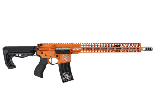 ".223 Wylde  16""  'Maverick' Stainless steel Match Grade Complete Rifle / 1:8 Twist / 15""Mlok  Handguard / Tequila sunrise"