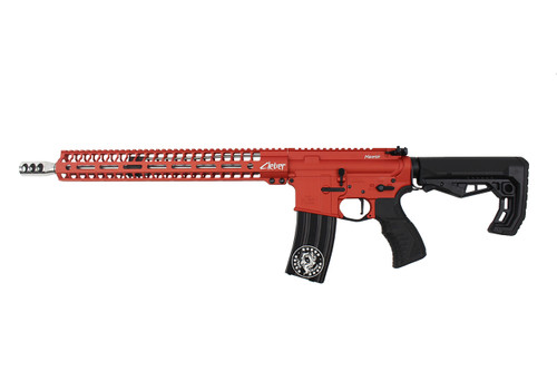 ".223 Wylde  16""  'Maverick' Stainless steel Match Grade Complete Rifle / 1:8 Twist / 15""Mlok  Handguard / Blood Orange"