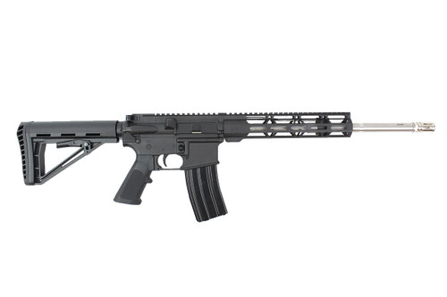 "5.56 NATO 16""  'Operator Series' Stainless steel Complete Rifle / 1:8 Twist / 10""Mlok  Handguard / SS Flash Hider"