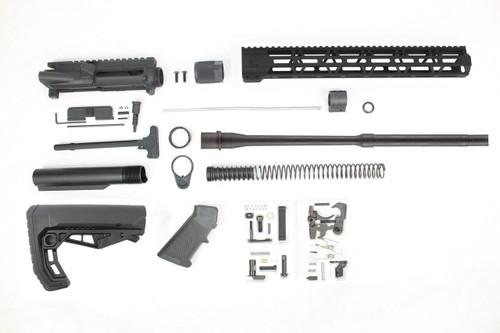 "ZAVIAR 16"" 5.56 NATO *Bull Barrel* Nitride Build Kit / 1:8 TWIST / 15"" MLOK HANDGUARD"