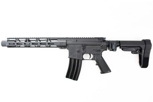 "Zaviar Firearms 5.56 Nato 'Operator Series' 10.5"" Complete Pistol / 1:7 Twist / 12"" MLOK Handguard / SBA3 with Foldable Adapter"