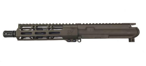 "Zaviar Firearms 5.56 Nato 'Operator Series' 7.5"" Nitride Upper Receiver / 1:7 Twist / 7"" MLOK Handguard / OD Green / A2"