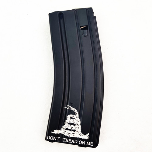 .223 / 5.56 / 300BLK C Products Defense 30 Round Magazine (Don't Tread On Me)