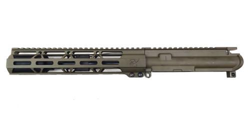 "Zaviar Firearms 7.62 'Wolverine Series' 7.5"" Nitride Upper Receiver / 1:7 Twist / 10"" MLOK Handguard / OD Green"