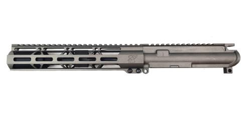 """Zaviar Firearms 7.62x39 'Wolverine Series' 7.5"""" Nitride Upper Receiver / 1:7 Twist / 10"""" MLOK Handguard / Tungsten Grey"""
