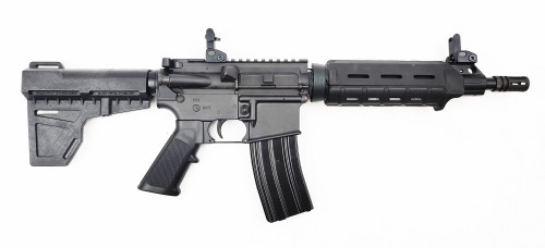 "Zaviar Firearms 5.56 Nato 'Operator Series' 10.5"" M4 Carbine Nitride Complete Pistol / 1:7 Twist / Kak"