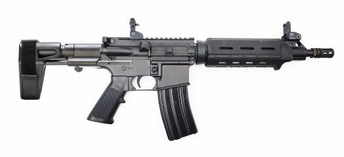 "Zaviar Firearms 5.56 Nato 'Operator Series' 10.5"" M4 Carbine Nitride Complete Pistol / 1:7 Twist / SB tactical PDW"