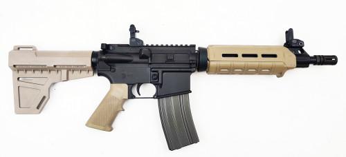 "Zaviar Firearms 5.56 Nato 'Operator Series' 10.5"" FDE M4 Carbine Nitride Complete Pistol / 1:7 Twist / KaK"