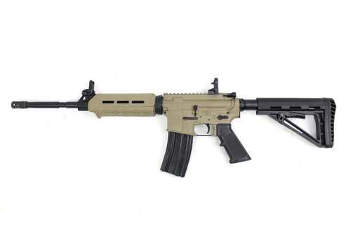 "Zaviar Firearms 5.56 Nato 'Operator Series' 16"" FDE M4  Nitride Complete Carbine Length Rifle / 1:7 Twist / Achilles Buttstock"
