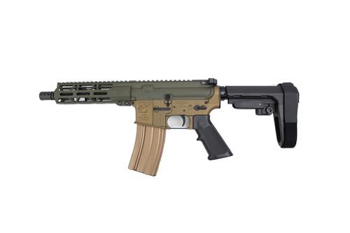 "Forest Edition Zaviar Firearms 5.56 Nato 'Operator Series' 7.5"" Complete Pistol / 1:7 Twist / 7"" MLOK Handguard"
