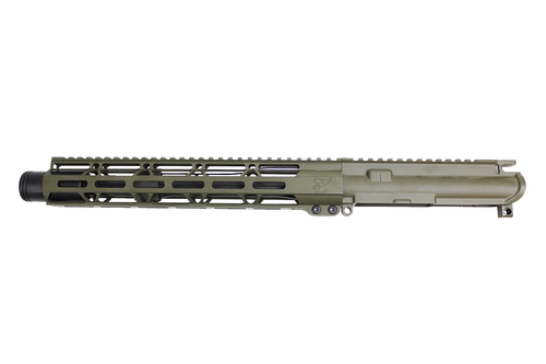 "Zaviar Firearms 5.56 Nato 'Operator Series' 10.5"" Nitride Upper Receiver / 1:7 Twist / 12"" MLOK Handguard / OD Green (Z54112-ODG)"