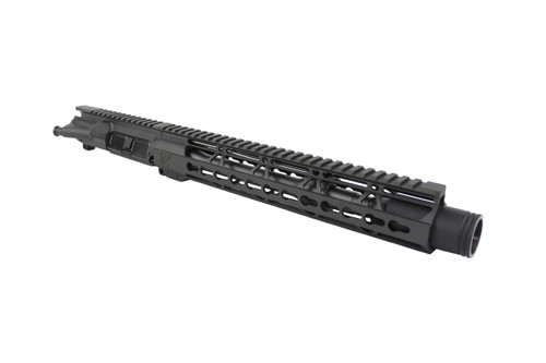 "ZAVIAR 10.5"" 5.56 NITRIDE UPPER RECEIVER I 1:7 TWIST I FLASH CAN I 12"" KEYMOD HANDGUARD"