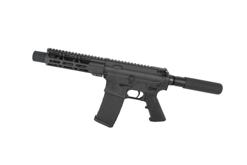 "9mm 'Stinger Series' 5.5"" Nitride Complete Pistol / 1:10 Twist / 7"" MLOK Handguard"