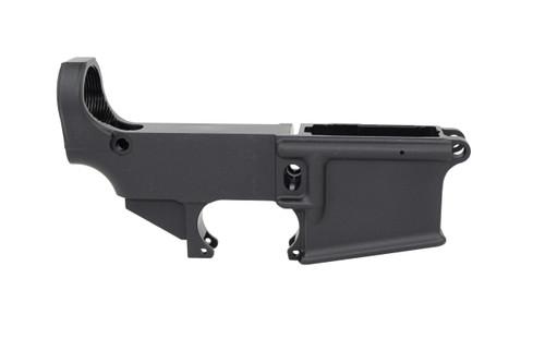 AR-15 Black Anodized Mil-Spec 80% Lower Receiver