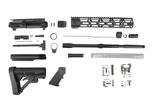 "6.5 Grendel Type II 'Recon Series' 16"" Nitride Builder Kit / 1:8 Twist / 12"" KeyMod Handguard"