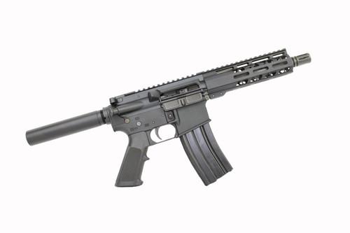 "5.56 Nato 'Operator Series' 7.5"" Nitride Complete Pistol / 1:7 Twist / 7"" MLOK Handguard"