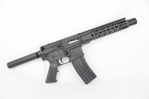 "Z22 ZAVIAR SPITFIRE SERIES COMPLETE PISTOL 9"" .22LR 1/16 NITRIDE 9"" RAIL (PAIRED WITH 5.56 LOWER + .22LR AR15 MAGAZINE"