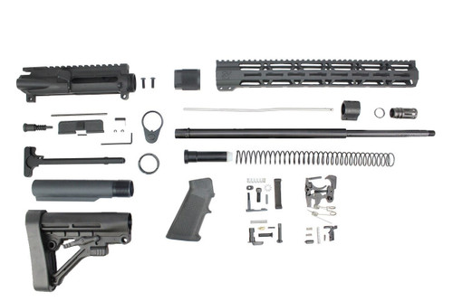 "6.5 Grendel Type II 'Recon Series' 20"" Nitride Builder Kit / 1:8 Twist / 15"" MLOK Handguard"