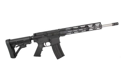"7.62 x 39 'Wolverine Series' 16"" Stainless Steel Complete Rifle / 1:10 Twist / 12"" MLOK Handguard"