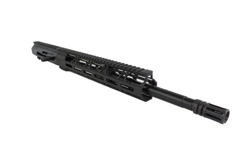 "5.56 Nato 'Operator Series' 16"" Nitride Right Handed Side Charging Upper Receiver / 1:9 Twist / 12"" MLOK Handguard"