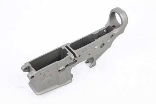 Zaviar Stainless Steel CERAKOTED MIL-SPEC AR15 Stripped Lower Receiver
