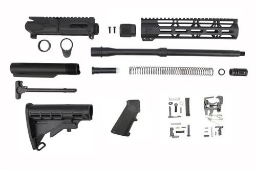 "9mm 'Stinger Series' 16"" Nitride Builder Kit / 1:10 Twist / 10"" MLOK Handguard"