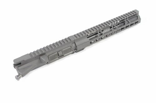 "ZAVIAR 7.5"" 5.56 NATO NITRIDE UPPER RECEIVER / 1:7 TWIST / FLASH CAN / 10"" KEYMOD HANDGUARD"