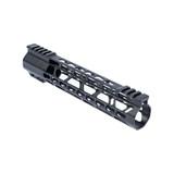 "10"" KEYMOD Lightweight Free Float Rail - AR15 - Black"