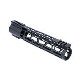 "10"" M-LOK Lightweight Free Float Rail - AR15 -  Black"