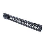 "17"" M-LOK Lightweight Free Float Rail - AR15 - Black"