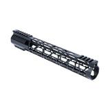 "12"" KEYMOD Lightweight Free Float Rail -  AR15 - Black"