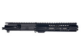 """7.5"""" 300 BLACKOUT Stainless Barrel - 9"""" Rail - Micro Slim Cone Flash Can - AR15 Pistol Upper Assembly"""